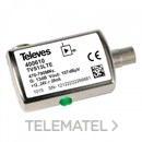 Amplificador línea UHF 1e/1s enchufable con referencia 400610 de la marca TELEVES.