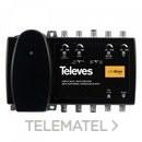 Amplificador Minikom Matv 4e/1s FM-BIII/DAB con referencia 539201 de la marca TELEVES.