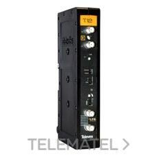 Amplificador T12 FI G35-50dB 12 canales con referencia 508012 de la marca TELEVES.