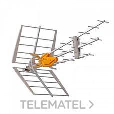 Antena Dat Boss UHF C21-C60 G45dBi colectivo con referencia 149942 de la marca TELEVES.