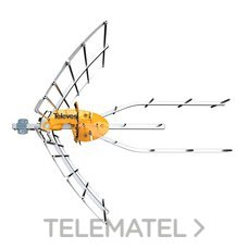 TELEVES 148922 ANTENA ELLIPSE UHF(C21-48)+ALIM.CTVO.