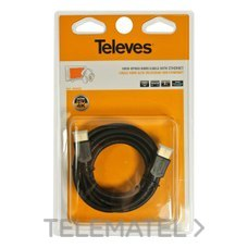 TELEVES 494502 Cable HDMNI M-M 3m A/V blister