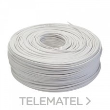 Cable telefonía básica LSFH 5mm blanco con referencia 217101 de la marca TELEVES.