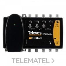Central amplificador CA-Minikom Matv+FI con referencia 5396 de la marca TELEVES.