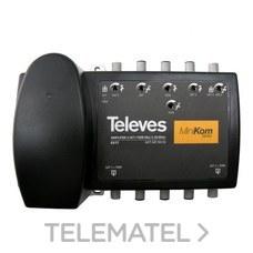 "Central amplificador Minikom RET+Matv+2FI ""F"" G(-5)/30/33..38 con referencia 5317 de la marca TELEVES."