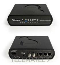 Coaxdata Gateway 1Gbps con referencia 769301 de la marca TELEVES.