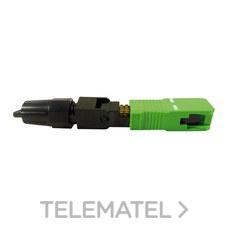 Conector SC/APC fibra óptica con referencia 2329 de la marca TELEVES.