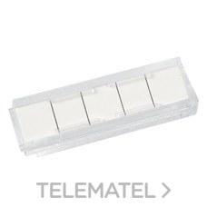 Etiqueta identificadora 5 pares con referencia 2198 de la marca TELEVES.