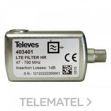 TELEVES 403401 FILT.LTE60 F 5-790MHz VHF/UHF C21-60 EXT