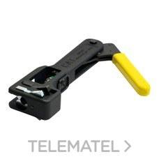 Máquina compresión para conector tipo-F con referencia 2163 de la marca TELEVES.