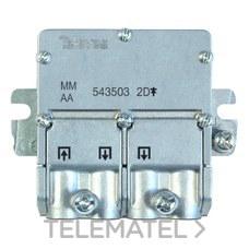MINI repartidor 5 2400MHz Easyf 2D 4,3/4dB con referencia 543503 de la marca TELEVES.