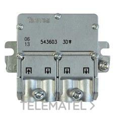 TELEVES 543603 Mini repartidor 5 2400MHz Easyf 3D 8,5/7,5dB