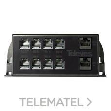 Multiplexor pasivo RJ45 1 M/9 H salida ADSL con referencia 546501 de la marca TELEVES.