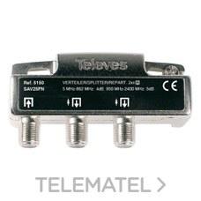 TELEVES 5150 Repartidor 2 salidas