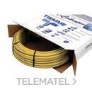 Tubo de polietileno reticulado 0600G con alma de aluminio 20x2,0mm amarillo para gas (En rollo de 100m) con referencia 0660002 de la marca TIEMME.