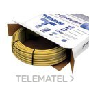 Tubo de polietileno reticulado 0600G con alma de aluminio 26x3,0mm amarillo para gas (En rollo de 50m) con referencia 0660003 de la marca TIEMME.