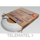 Tubo de polietileno reticulado de alta densidad 0300B 15x2,5mm blanco (En rollo de 100m) con referencia 0300008 de la marca TIEMME.
