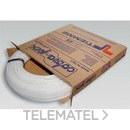 Tubo de polietileno reticulado de alta densidad 0300B 16x2,2mm blanco (En rollo de 100m) con referencia 0300002 de la marca TIEMME.