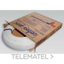 Tubo de polietileno reticulado de alta densidad 0300B 16x2mm blanco (En rollo de 100m) con referencia 0300001 de la marca TIEMME.