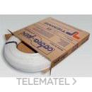 Tubo de polietileno reticulado de alta densidad 0300B 22x3mm blanco (En rollo de 100m) con referencia 0300007 de la marca TIEMME.