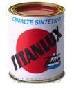 Esmalte sintético TITANLUX interiores / exteriores gris acero 375ml con referencia 001050338 de la marca TITANLUX.