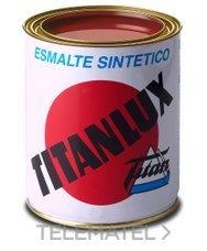 Esmalte sintético TITANLUX interiores / exteriores gris acero 4l con referencia 001050304 de la marca TITANLUX.