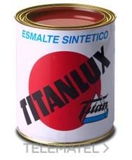 Esmalte sintético TITANLUX interiores / exteriores gris acero 750ml con referencia 001050334 de la marca TITANLUX.