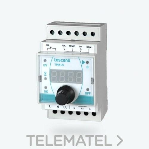 Módulo de control TPM-UV para sistemas de desinfección con referencia 10003278 de la marca TOSCANO.