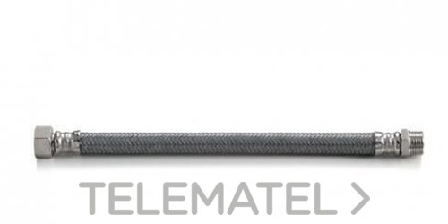 """FLEXIBLE TAQ-SUPER-TP MG-1212 MACHO-HEMBRA 1/2"""" 300mm con referencia 200550 de la marca TUCAI."""