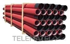 TUPERSA 126100040 Tubo canalización ULTRA-TP I ligero diámetro 40 rojo (En Rollo)