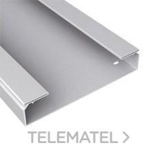 Bandeja 66 lisa PVC-M1 U23X 60x200 gris con referencia 66201 de la marca UNEX.