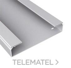 Bandeja 66 lisa PVC-M1 U23X 60x300 gris con referencia 66301 de la marca UNEX.