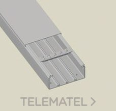 UNEX 72086 CANAL 72/73 PVC-M1 60x190 GRIS