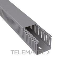 UNEX 60.20.77 CANAL P/CBLD.77 PVC-M1 60x20 U23X GR