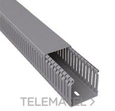 UNEX 60.30.77 Canal para cableado 77 PVC-M1 60x30 U23X gris