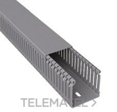 UNEX 80.60.77 CANAL PARA CABLEADO 77 PVC-M1 80x60 GRIS