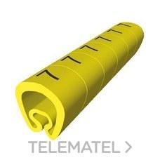 UNEX 1811-1 SENALIZACION PVC PLAST.2-5mm -1-amarillo