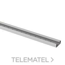 UNEX 6035 TELE-RAIL PVC-M1 U23X 14x36 GRIS