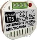 Intermitente universal multicarga 500W máximo (En blister) con referencia IT5 de la marca VARILAMP.