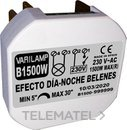 Regulador efecto día / noche para belenes 1500W máximo (En blister) con referencia B1500W de la marca VARILAMP.