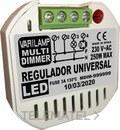 Regulador led universal a pulsadores 250W máximo (En blister) con referencia MULTI DIMMER 250 de la marca VARILAMP.