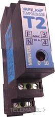 VARILAMP T2 Temporizador multicarga carril din 10A máximo (En blister)