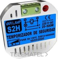 VARILAMP S2H Temporizador seguridad 2 hilos 800W incandescencia 500W halogenos (En blister)