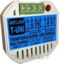 Temporizador universal multicarga pulsadores 500W máximo (En blister) con referencia T-UNI de la marca VARILAMP.