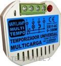Temporizador universal multicarga pulsadores / interruptores 500W máximo (En blister) con referencia MULTI TEMPO 500 de la marca VARILAMP.
