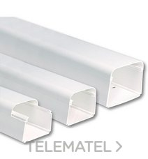 VECAMCO 9803-002-08 CANAL TAPATUBS 125x75 (1mt.)
