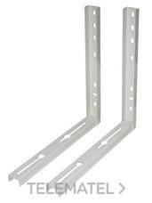 VECAMCO 9794-161 Juego soportes industrial 450x450 180Kg (2 unidades)