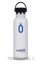 Botella termo RUNBOTT 600ml blanco (16u) con referencia 970303 de la marca WATERFILTER.