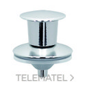 Botón pulsador mx+00ch cromo con referencia 19022101 de la marca WIRQUIN.